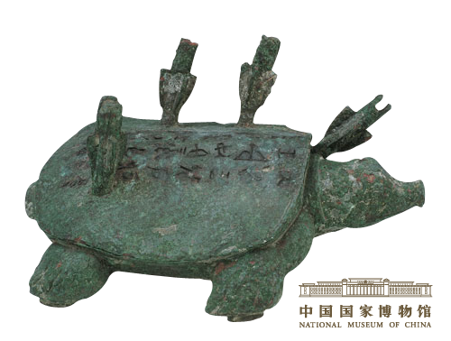 Turtle shape bronze souvenir